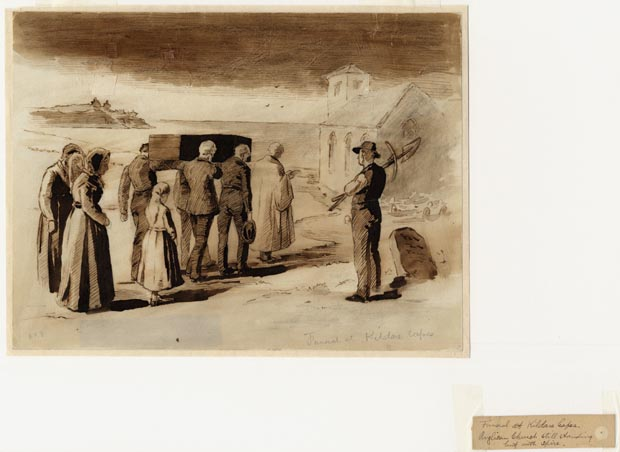 Image of painting : Funeral At Kildare Capes