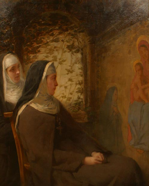 Image of painting : An Italian Convent Of The Sixteenth Century