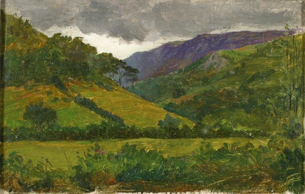 Image of painting : From Behind Trefriw Looking Towards Crafnant