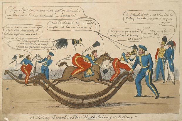 Image of print : A Riding School Or The Tenth Taking At Lefson