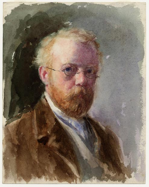 Image of painting : Self-portrait