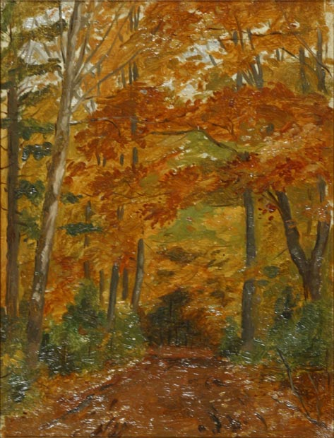 Image of painting : In Charlottetown, Falconwood Park