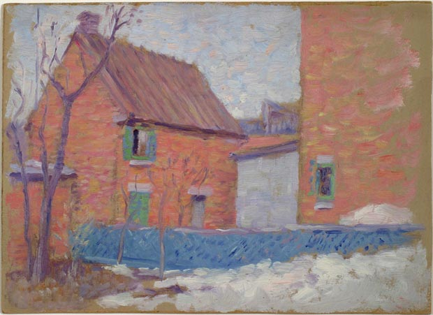 Image of painting : The Last Snow