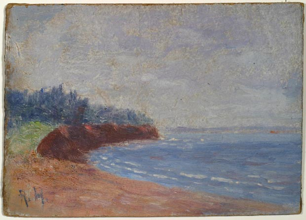 Image of painting : Holland Cove, P.E.I., July 1918
