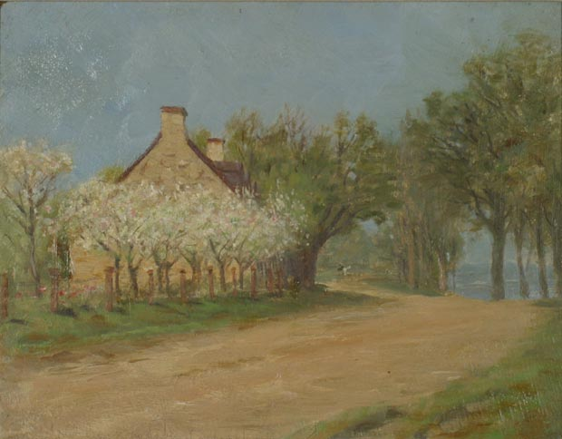 Image of painting : Old House Near Lachine