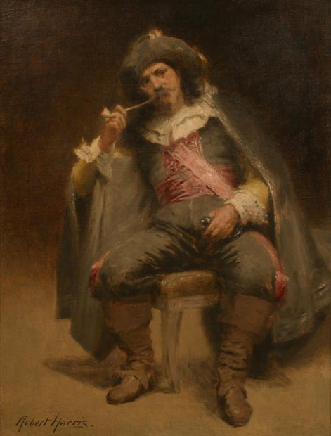Image of painting : The Cavalier