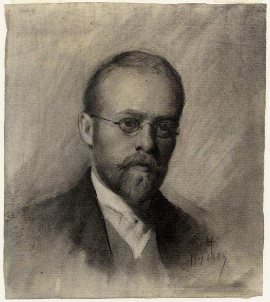 Image of drawing : Self-portrait