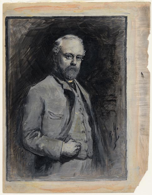 Image of painting : Sketch For Self-portrait