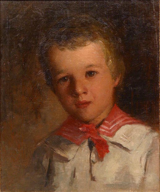 Image of painting : Portrait Of A Young Boy