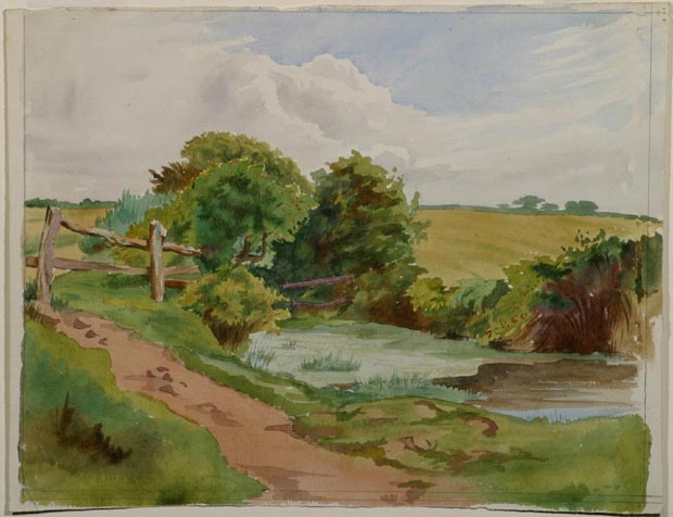 Image of painting : Landscape With Brook