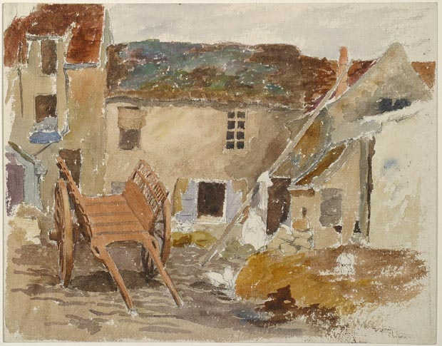 Image of painting : In Ecouen France