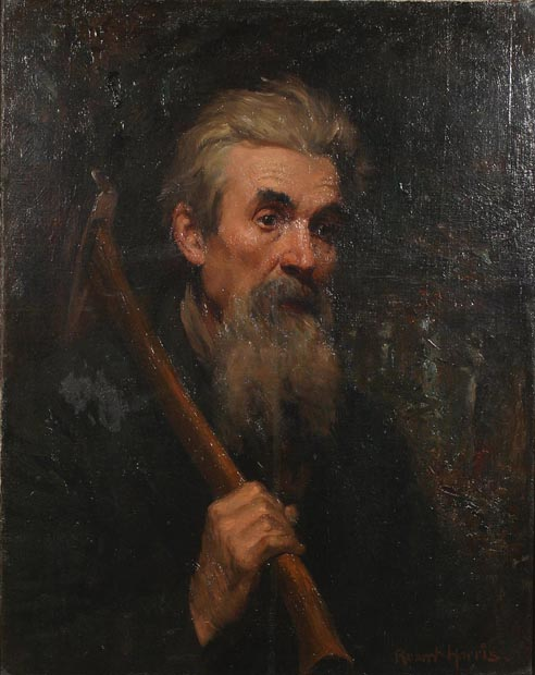 Image of painting : The Woodsman