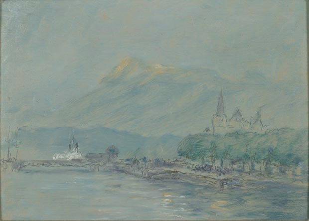 Image of painting : In Lucerne Switzerland