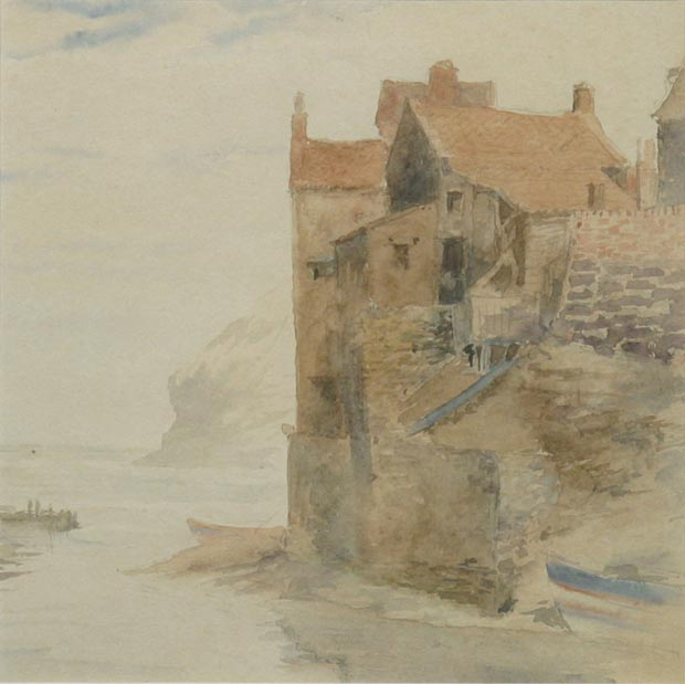 Image of painting : Coast Scene