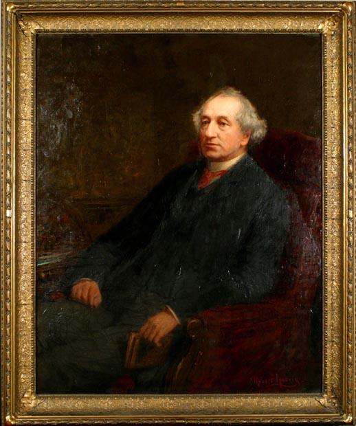 Image of painting : The Rt. Hon. Sir John A. Macdonald