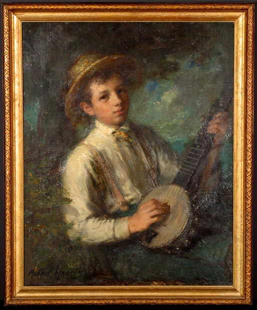 Image of painting : The Banjo Boy