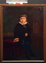 Image of painting : Portrait Of A Young Stetham Child