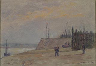 Image of painting : Etaples, France